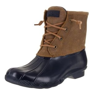 Sperry Top-Sider Women's Sweetwater Boot Navy/Tan
